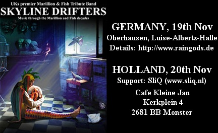 Skyline Drifters European Tour